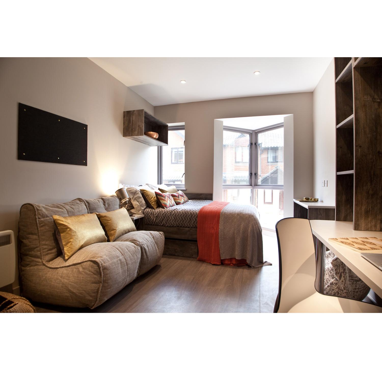 2 Seater Cream Sofa Designer Bean Bag Couch Cream