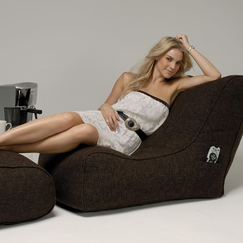 Indoor Bean Bags Evolution Sofa Hot Chocolate Bean