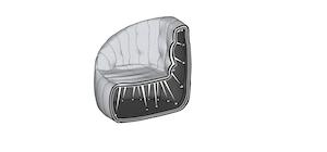 elastic structure in soft furniture vs bean bags