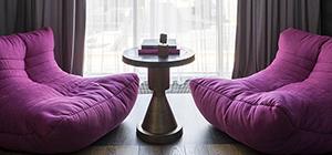 Australia's premium pink acoustic bean bag by Ambient Lounge