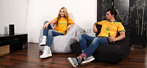 world cup bean bag lounge socceroos chile 2014