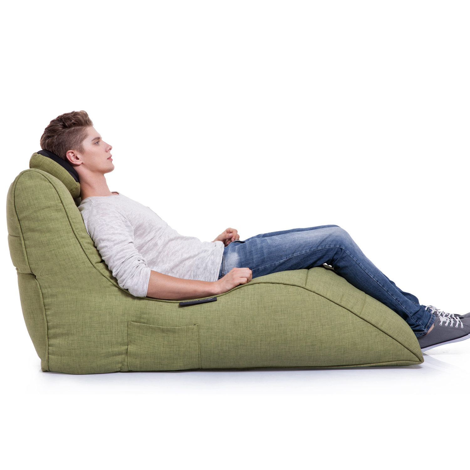 Home Cinema Indoor Bean Bag Avatar Lounger Lime Citrus