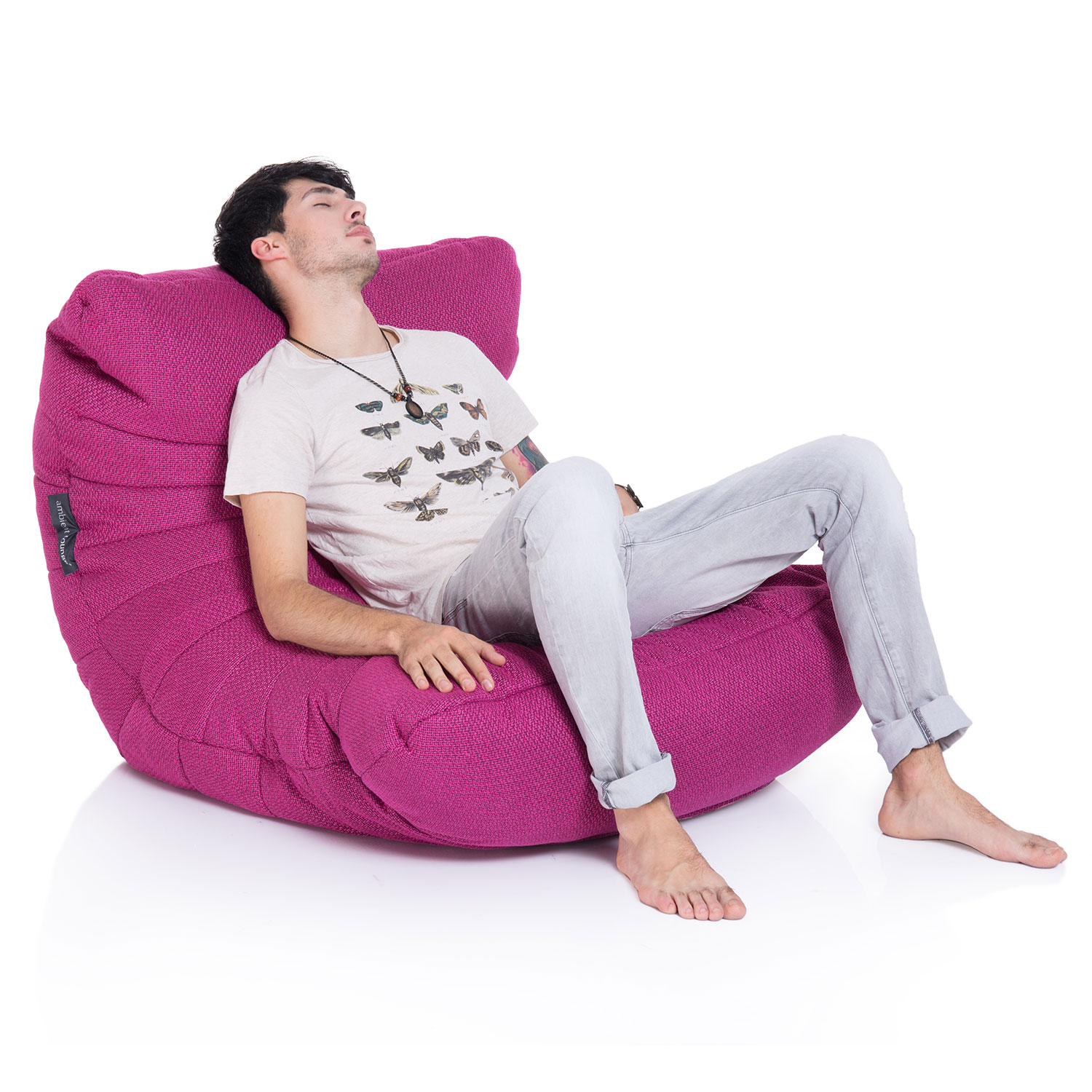 3a1b3e6ed6 Pink Acoustic Bean Bags - Ambient Lounge