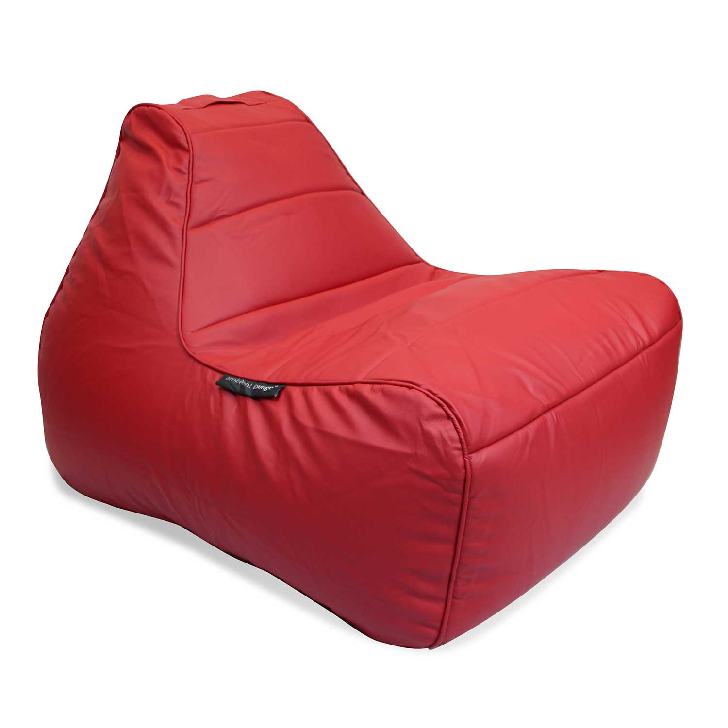 mode red lounger bean bag chair tivoli lounger bean bag. Black Bedroom Furniture Sets. Home Design Ideas