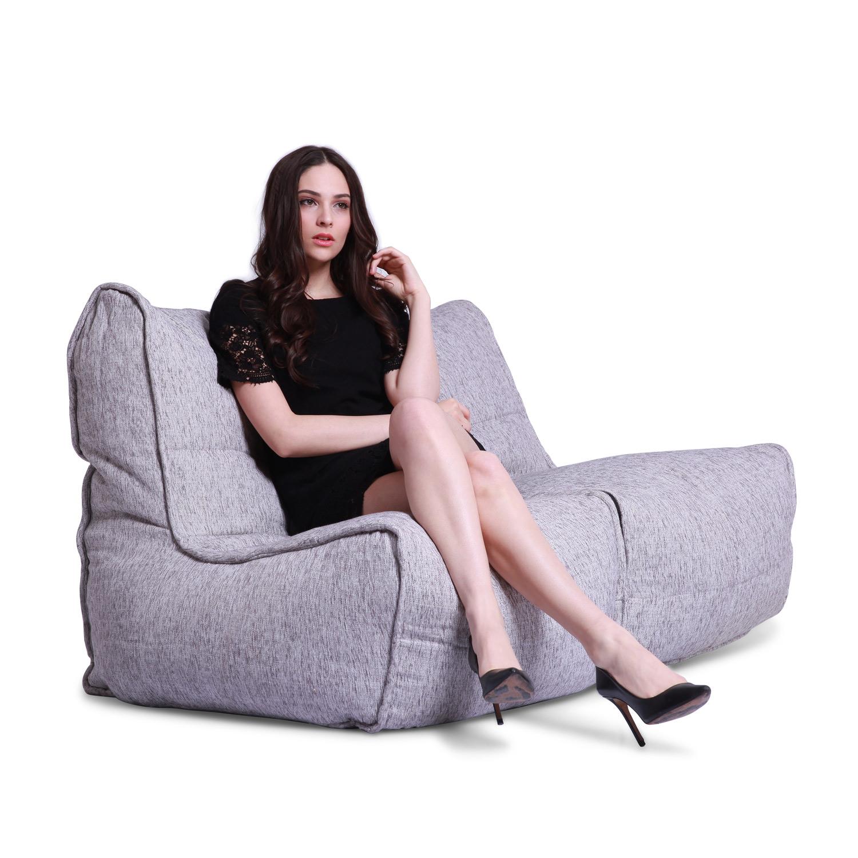 Attirant White Twin Couch Bean Bag Sofa .