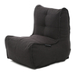 Link middle bean bag in Black Interior Fabric