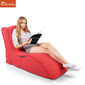 Beautiful crimson red avatar sunbrella fabric outdoor bean bag for balcony, decking, spa and poolside