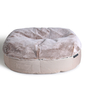 cappuccino cushion dog beds made of bean bags by Ambient Lounge