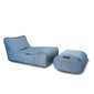 Studio Chaise set Blue Sky Eclipse