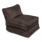 brown conversion lounger bean bag