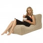 Beige Lounger Bean Bag - Ambient Lounge