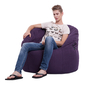 violet bean bag chair