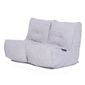 White Twin Couch Bean Bag Sofa