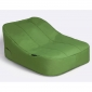 green satellite twin bean bag