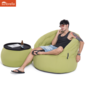green versa table sunbrella fabric bean bag