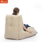 cream avatar sunbrella fabric bean bag