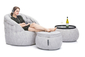 white designer sofa set bean bag by Ambient Lounge