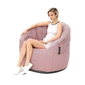 pink bean bag sofa