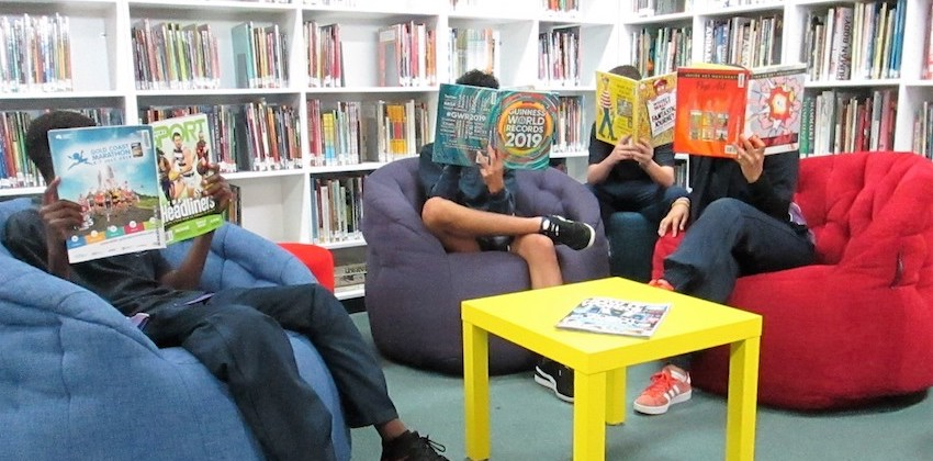 australian school ambient lounge bean bags library. butterfly sofa