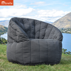 black butterfly sunbrella fabric bean bag