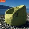green butterfly sunbrella fabric bean bag