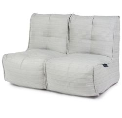 Silverline Twin couch by ambient lounge. outdoor twin couch