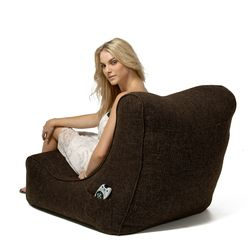 Evolution Indoor Bean Bags | High Back Rest Bean Bag Chairs