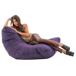 Purple Acoustic Bean Bags - Ambient Lounge
