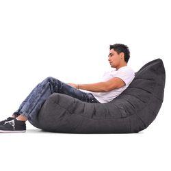 Black Acoustic Bean Bags - Ambient Lounge