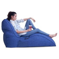 Blue Avatar Bean Bag Sofa
