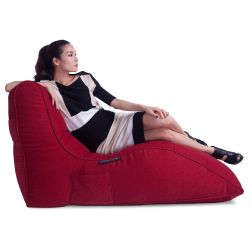 Red  Avatar Bean Bag Sofa
