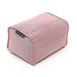 pink ottoman bean bag