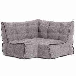 Modular corner bean bag in Luscious Grey