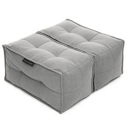 Grey Ottoman Modular Beanbag in Interior Fabric