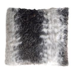 850gm animal print deluxe faux fur cushion by ambient lounge