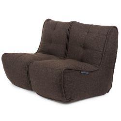 Brown Twin Couch Bean Bag Sofa